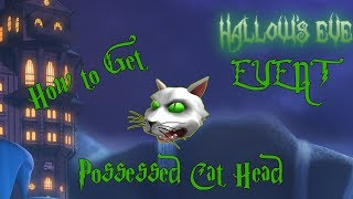 How to Get the Possessed Cat Head - ROBLOX HALLOWS EVE EVENT (Robloxian Highschool)