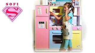Kids Craft pastel kitchen review. кухня для девочек!