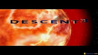Descent 3 gameplay (PC Game, 1999)