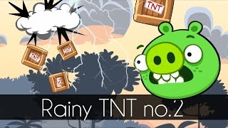 Bad Piggies - RAINY TNT PART 2 (Field of Dreams)