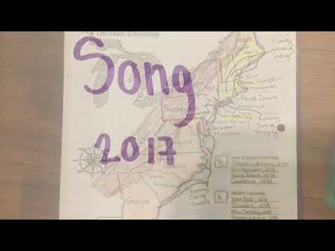 13 Colonies Song