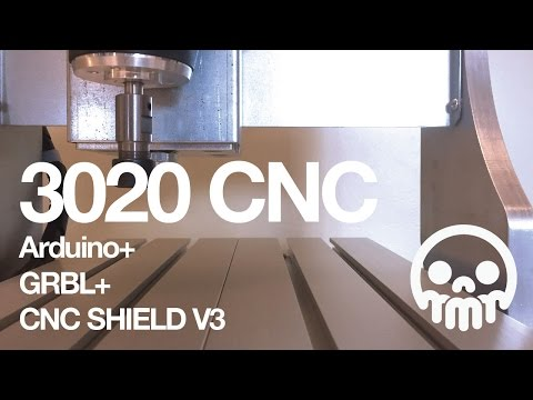 3020 CNC + Arduino + GRBL + CNC Shield V3: 8 Steps (with Pictures)