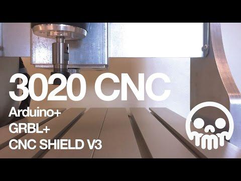 3020 CNC + Arduino + GRBL + CNC Shield V3: 8 Steps (with