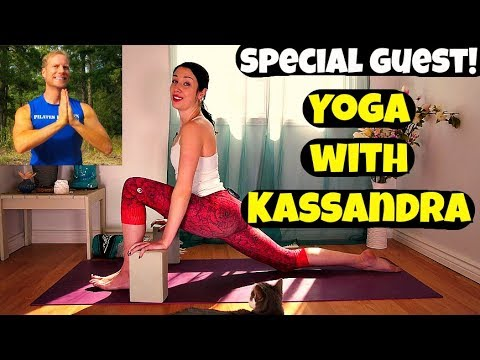 YIN YOGA CLASS - Special Guest: Yoga with Kassandra - 30 minute Routine