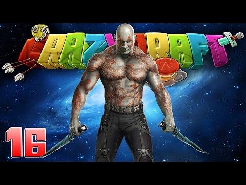 """Minecraft CrazyCraft 2.3 Season 2 """"Drax The Destroyer!"""" 16 w/ JAYG3R"""