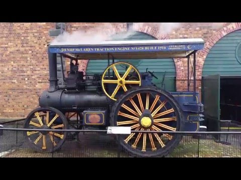 MOTAT: Steam trains, traction engines, fire engines and Harley Davidson