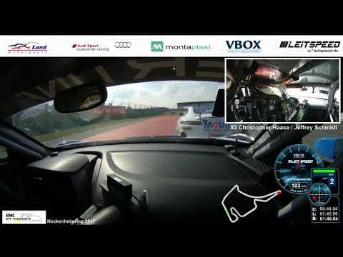 VBOX VIDEO HD2. Leitspeed. ADAC GT Masters 2017 Finale Hockenheim. FullHD.