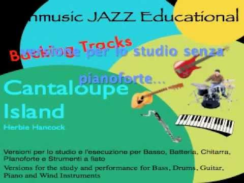 Cantalupe Island Backing Tracks no Piano base senza Pianoforte