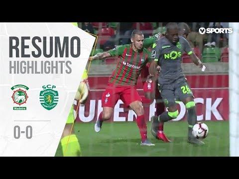 Highlights | Resumo: Marítimo 0-0 Sporting (Liga 18/19 #23)