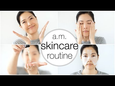 Morning SKINCARE Routine - Summer Edition -
