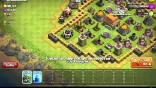 Clash of Clans - Full gobelin ! Du grand farming !