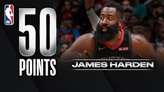 Harden GOES FOR 50 With NBA Record 24 FTM!