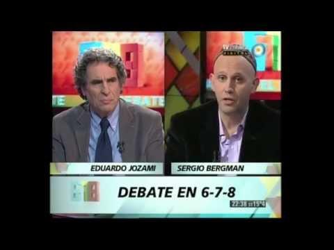 Sergio Bergman — En 678 (Canal 7) - 02/10/2012 - Reaccion