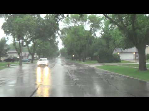 Multiple Storm and Flooding Scenes Arlington Heights, Buffalo Grove Wednesday June 26, 2013