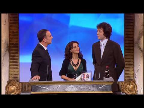 Chris Addison and Lucy Porter at the Comedy Awards