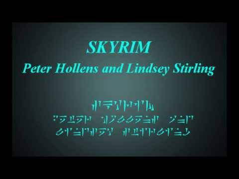 Peter Hollens, Lindsey Stirling  Skyrim lyrics