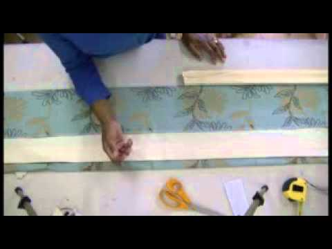 How to make Pinch Pleat Curtains (buckram) or Valances part 1