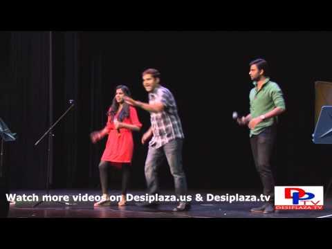Shravana Bhargavi & Hemachandra singing at Super Singers concert in Dallas 2013.