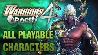 WARRIORS OROCHI 4 All Playable Characters 『無双OROCHI3』