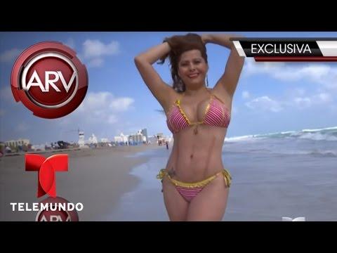 Carmen Jara muestra resultado de lipoescultura | Al Rojo Vivo | Telemundo