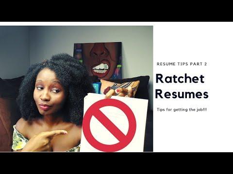 Resume Tips For Getting Hospital Job Part 2: Ratchet Resumes