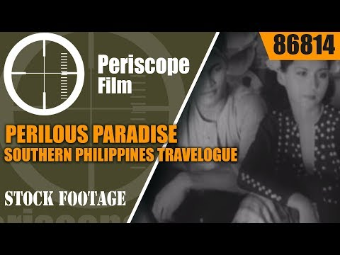 PERILOUS PARADISE  SOUTHERN PHILIPPINES TRAVELOGUE 1930s  JOLO 86814