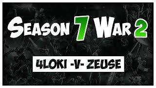 SEASON 7 | ALLIANCE WAR 2 : 4L0KI vs. ZEUS€ 😶 [Path 3 + BOSS] 😶