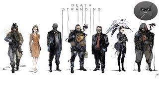 DEATH STRANDING / KOJIMA habla de los PERSONAJES / Reflexión de INFORMACIÓN / trailer / gameplay