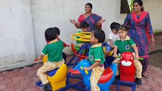 PLAY AND LEARN FUN ACTIVITY AT PRI PRIMARY PGIS BARWAHA SATISFYING VIDEO HOW TO ENJOY