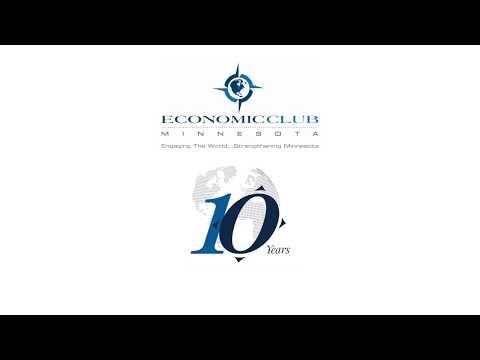 Doug Baker moderates Economic Club of Minnesota panel