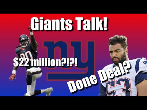 GIANTS NEWS: Trade Solder To The Jets?, Pay Jadeveon Clowney?+ MORE!(200)