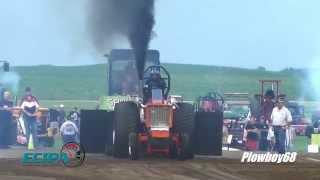 ECIPA 6,700lb LLSS Tractors Pulling in Wyoming, IA 7-11-2015