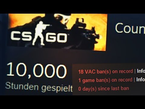 10.000 HOURS CS:GO - biBa still not VAC banned!