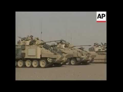 Challenger 2 Tank Operaion Telic 1 (Invasion Of Iraq 2003)