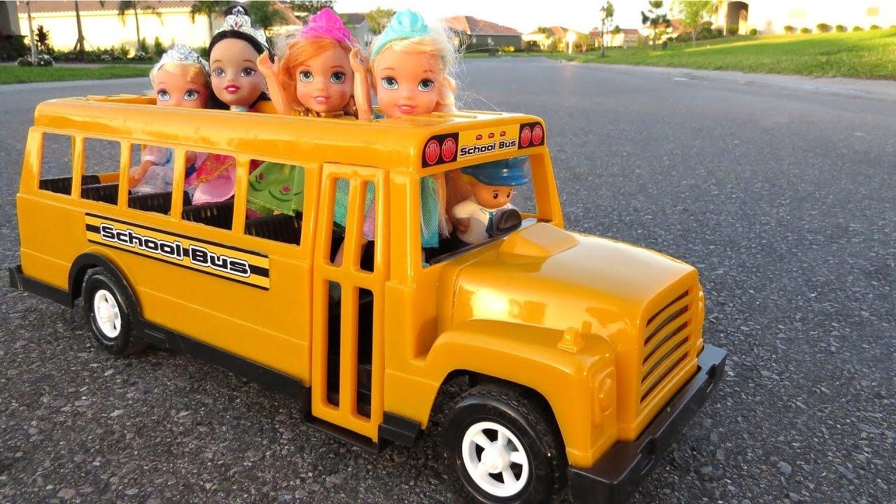 Download SCHOOL ! Elsa & Anna toddlers – Singing - Alphabet - Math problems - teacher Barbie