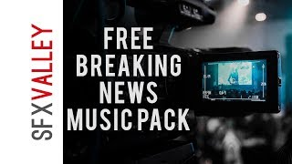 100% free Breaking news music pack   by sfxvalley