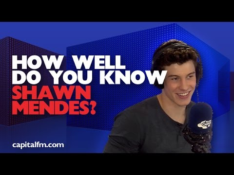 How Well Do You Know Shawn Mendes?