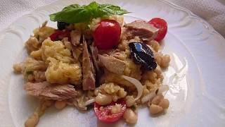 Капоната Наполитанская -Вкусный Салат для Закуски  и Диеты