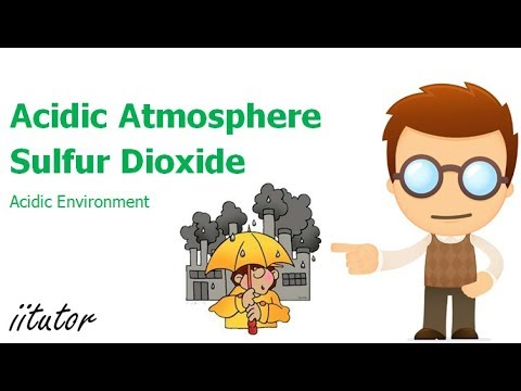 √ acidic atmosphere sulfur dioxide | Acidic Environment | iitutor