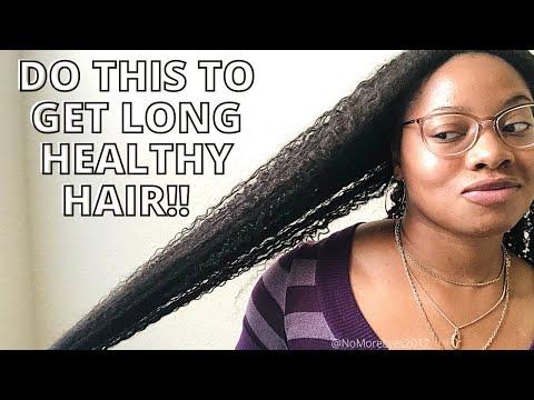 10 Tips/Ways to Long/Healthy Natural Hair | 10 Years Natural!!