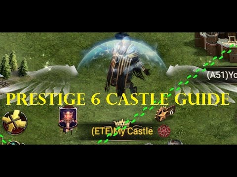 Clash Of Kings - Prestige 6 Castle Requirement Guide!!