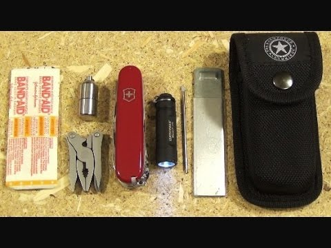 Victorinox Ranger Swiss Army Knife And My Pouch Kit Youtube