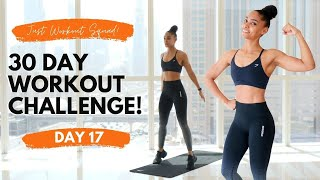 30 - DAY WORKOUT CHALLENGE - I AM BRAVE | DAY 17 (NO EQUIPMENT HOME WORKOUT)