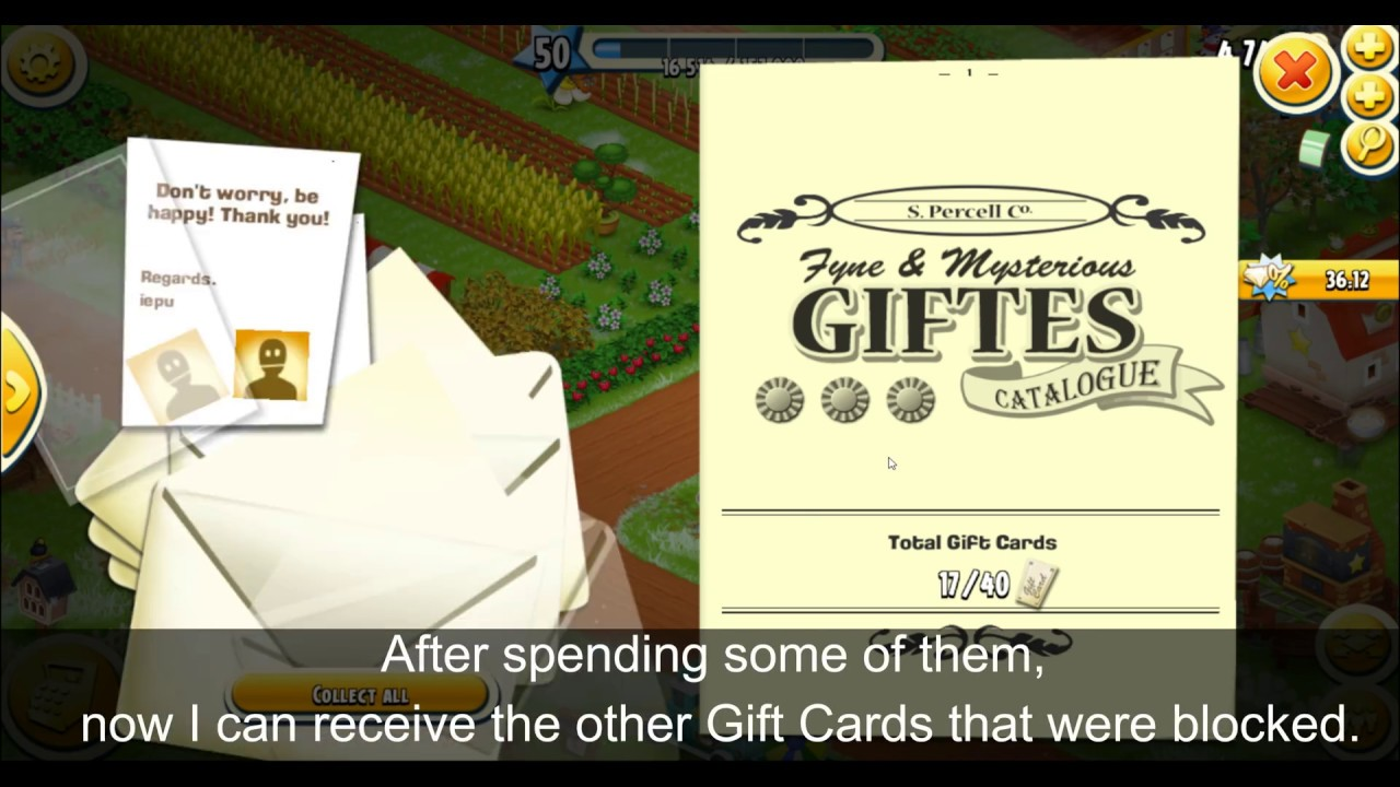 foto How to Get Gift Cards on Hay Day