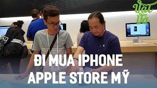Vật Vờ| Mua iPhone 7/7 Plus tại Apple Store gặp người Việt bán hàng