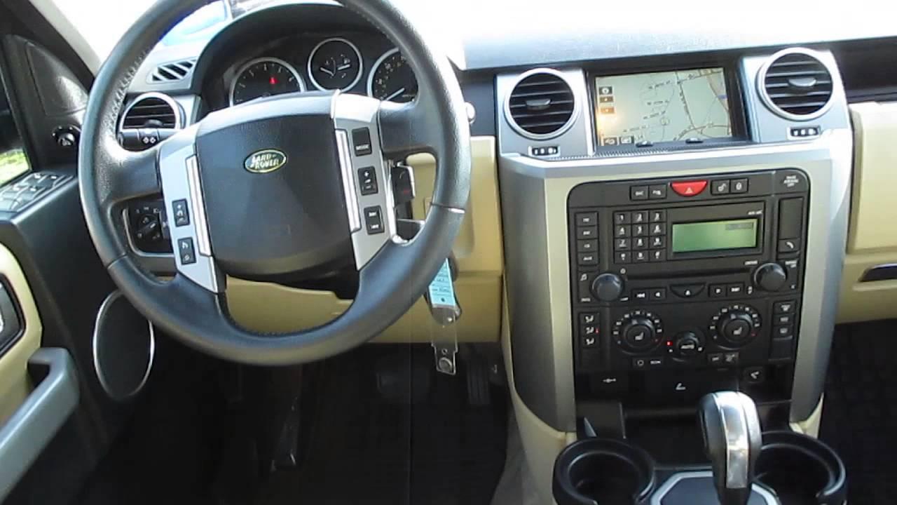 2008 land rover lr3 java black stock 5287a interior. Black Bedroom Furniture Sets. Home Design Ideas