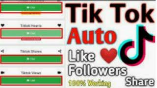 Get free tiktok hearts  easily