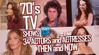 Download 70's TV Shows : 34 Actors And Actresses Nowadays | Stars Then And Now Mp3 and Videos