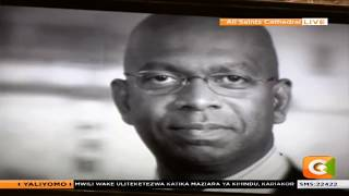 This is the song Bob Collymore dedicated to mourners at his memorial service
