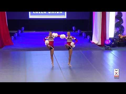 Team Japan [Freestyle Pom Doubles] - 2015 ICU World Cheerleading Championships